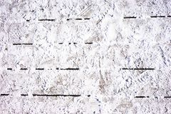 Snö på ett trägolv Fotografering för Bildbyråer