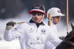 Snö Polo World Cup Sankt Moritz 2016 Royaltyfri Bild