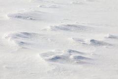 Snöbakgrund Fotografering för Bildbyråer