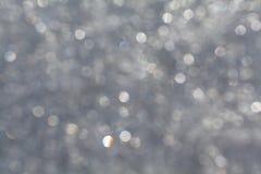 Snöbakgrund Arkivbilder
