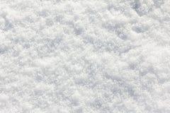 Snöbakgrundsvit i vinterdag Säsong av kallt väder, texturabstrakt begrepp arkivbild