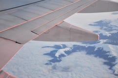 Snöberg från nivån Royaltyfria Bilder