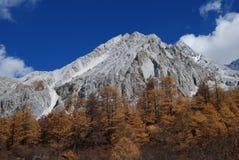 Snöberget av Konka Risumgongba Arkivfoton
