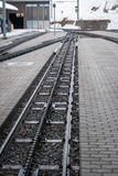 Snöbergjärnväg Royaltyfri Foto