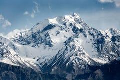 Snöbergskedja i Ladakh Fotografering för Bildbyråer
