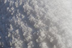 Snödrivadetaljer i pulverform royaltyfria bilder