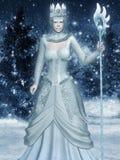 Snödrottning Arkivfoton