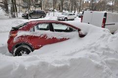 Snöfångenskap Arkivbilder