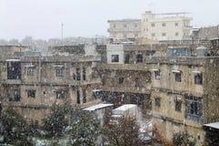 Snöfall Arkivbilder