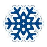Snöflinga Arkivfoton