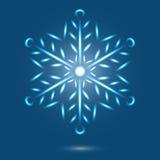 Snöflinga Royaltyfri Illustrationer