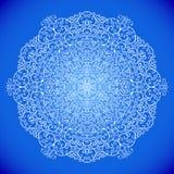 Snöflinga från virvlar royaltyfri illustrationer
