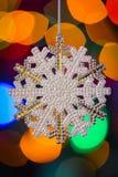 snöflinga X-mas Arkivfoto