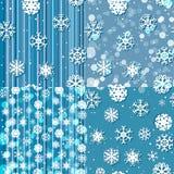 Snöflingamodell seamless textur nytt år för julbegrepp Royaltyfria Bilder