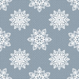 Snöflingamodell - snöflingavektormodell Arkivfoto