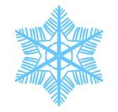 Snöflingavektorillustration Vintersimbol Coror knappuppsättning Fotografering för Bildbyråer
