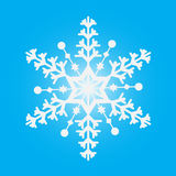 Snöflingavinter Royaltyfri Fotografi