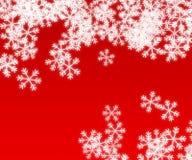 Snöflingor Royaltyfria Bilder