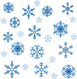 Snöflingor Royaltyfri Bild
