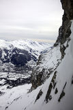 snöig alps Royaltyfri Bild