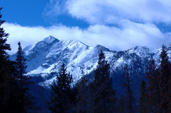 snöig berg 7 Royaltyfri Foto