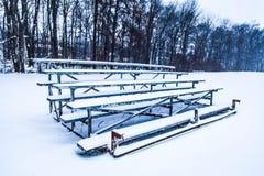Snöig blekare Fotografering för Bildbyråer