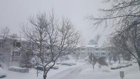 snöig dag Royaltyfria Foton