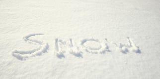 snöig dag Vinter Royaltyfri Bild