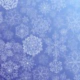Snöig flöde Royaltyfria Bilder
