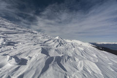 Snöig maximum Royaltyfria Bilder