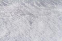 Snöig naturlig bakgrund Royaltyfria Bilder