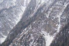 Snöig sörja Arkivfoton