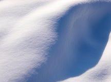 Snöig textur Arkivfoto
