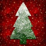 snöig tree Royaltyfri Foto