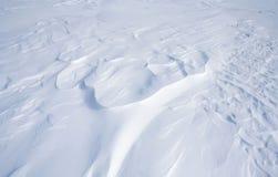Snöig vildmark royaltyfri fotografi