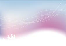 snöig vinter för abstrakt bakgrund Royaltyfri Foto
