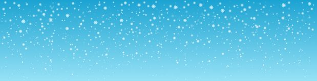 Snöig vinterdagbakgrund panorama stock illustrationer