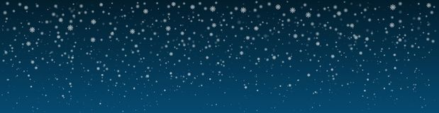 Snöig vinternattbakgrund panorama Royaltyfri Illustrationer