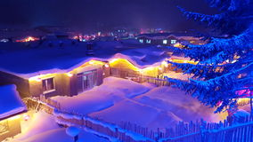 Snöland Arkivfoton