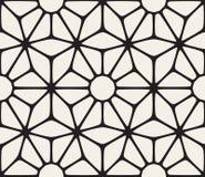 Snör åt sömlöst svartvitt för vektor den blom- modellen vektor illustrationer