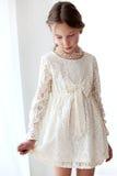Snöra åt klänningen Royaltyfria Bilder