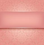 Snöra åt rosa färg Arkivbild