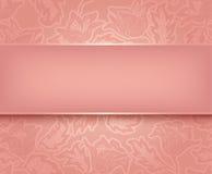Snöra åt rosa färg Royaltyfria Bilder