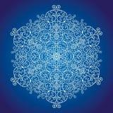 Snöra åt snöflingan royaltyfri illustrationer