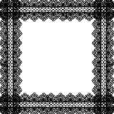 Snöra åt textur Arkivfoton