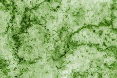 Snöslask från stycken av grön färg för snö och för is Royaltyfri Bild