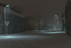 Snöstorm Royaltyfria Bilder