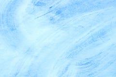 Snötexturen med skrapor Arkivfoto