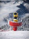 Snötillverkare Royaltyfri Fotografi