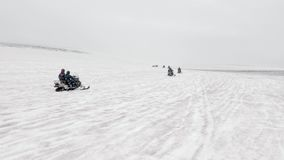 Snövessla turnerar i Island lager videofilmer